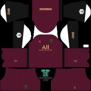 Paris Saint-Germain 2021 dls 19 kits alternative