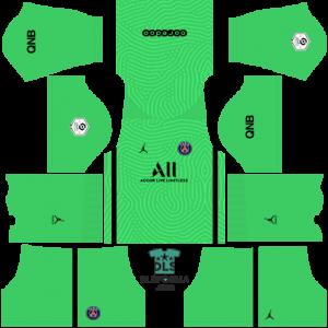 Paris Saint-Germain 2021 dls 19 kits goalkeeper