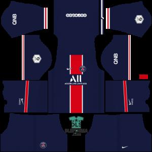 Paris Saint-Germain 2021 dls 19 kits home