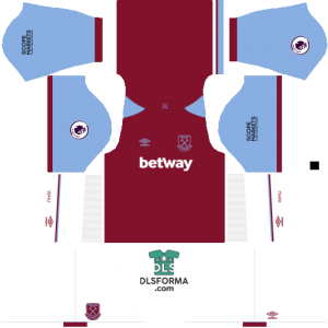 West Ham 2021 dls 19 kits home