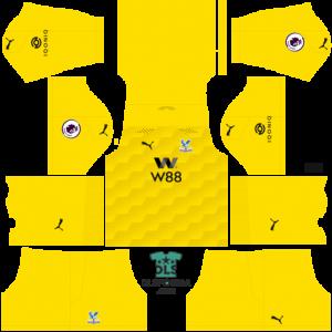 crystal palace 2021 dls 19 kits goalkeeper
