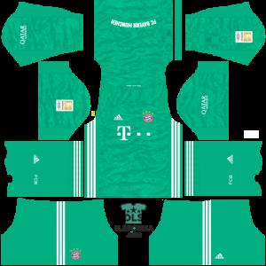 bayern munih 2021 dls 19 kits goalkeeper