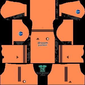 Feyenoord 2021 dls 19 kits goalkeeper