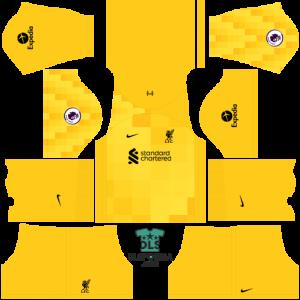 liverpool 2022 dls 19 kits goalkeeper