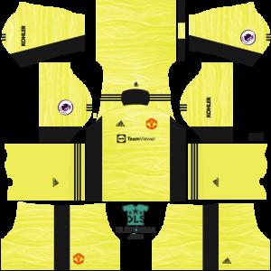 manchester united dls 19 kits goalkeeper